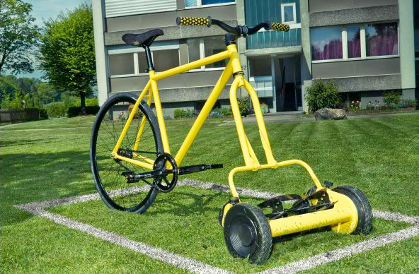 Lawnmower Bicycle Lawnmowers Snowblowers